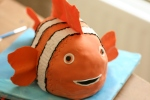 Clown fish cake