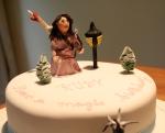Narnia theme cake