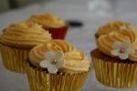 Orange flavoured cupcakes