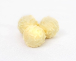 Zesty White Chocolate and Lemon truffles