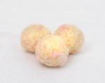 Raspberry and white chocolate truffles