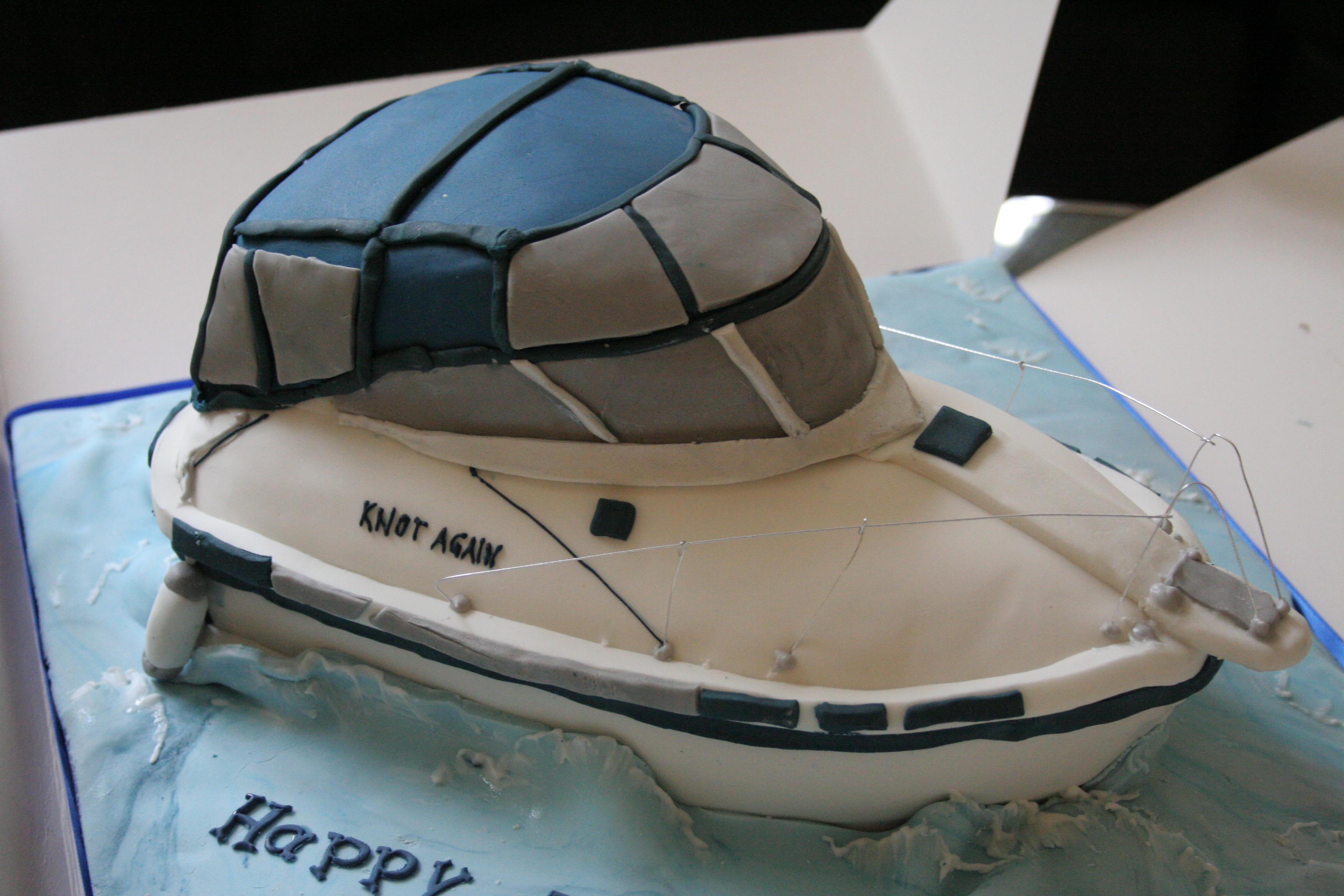 торт лодка мастер класс